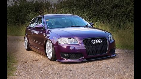 Audi A3 Stance by Stance Audi A3 Bagged On 3sdm Rollin Low Youtube