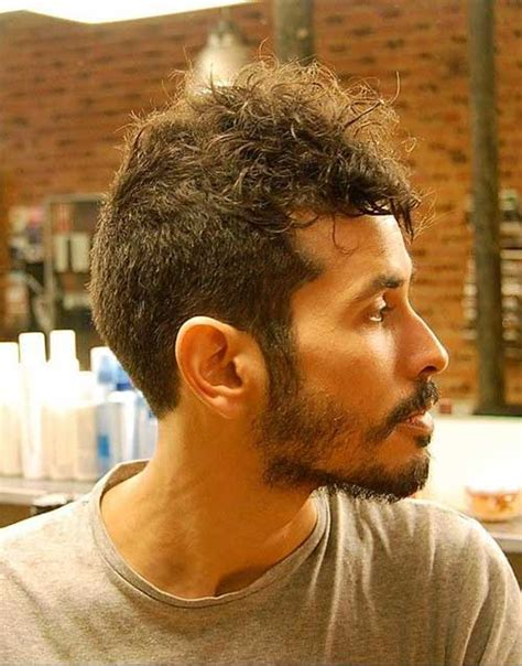 curly in back featered on the sides 20 best short hairstyles for men mens hairstyles 2018