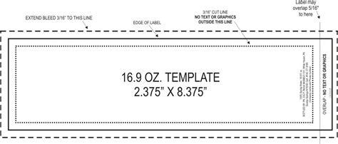 bottle label template printable bottle labels printable 360 degree