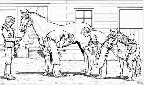 Coloring Of Horses by Coloring Pages Of Horses Coloring Pages