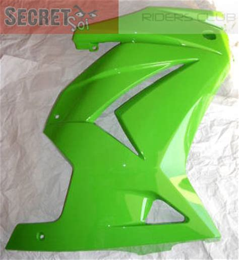 Dudukan Fairing Kawasaki 250r Original Ready Stock kawasaki 250 r 250r new oem right fairing green
