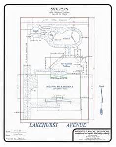 How To Draw A Site Plan For A Building Permit Building Permit Site Plans Pro Site Plan Cad Solutions