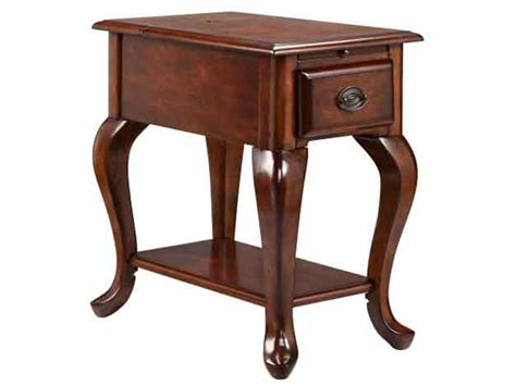 stein world accent table stein world accent tables 1 drawer chairside table in rich cordovan finish knight furniture