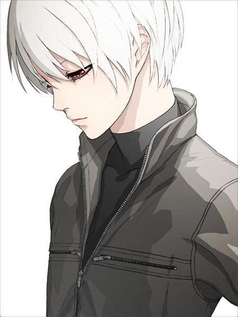 cute anime boy with white hair 17 best images about anime boys with white hair on