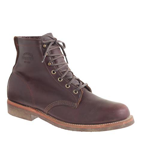 chippewa boots for original chippewa 174 for j crew plain toe boots j crew