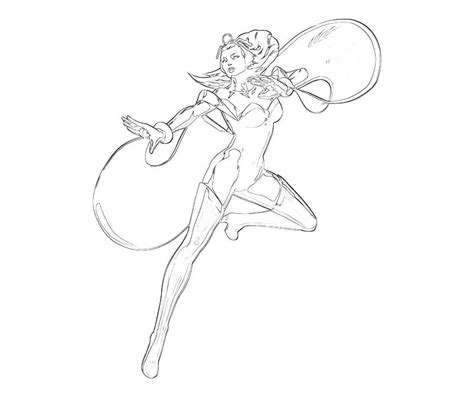 marvel storm coloring pages marvel ultimate alliance 2 storm cute mario