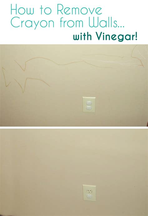 how to remove a wall how to remove crayon from walls with vinegar the eco