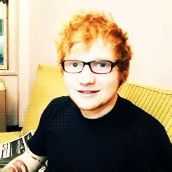 ed sheeran glasses my gif gif favorite ed sheeran favorite things teddy