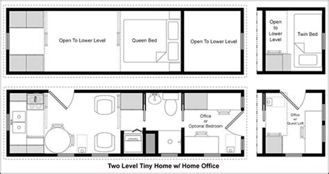 tiny home floorplans easy tiny house floor plans cad pro