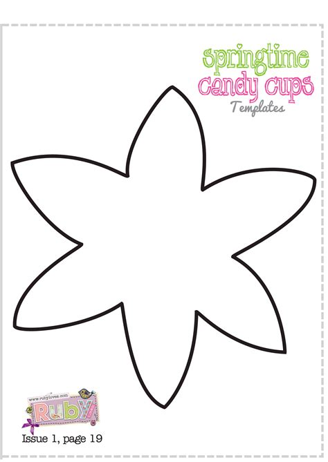 template of a daffodil daffodil template clipart best