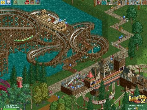 best roller coaster tycoon classic review rollercoaster tycoon 2 the