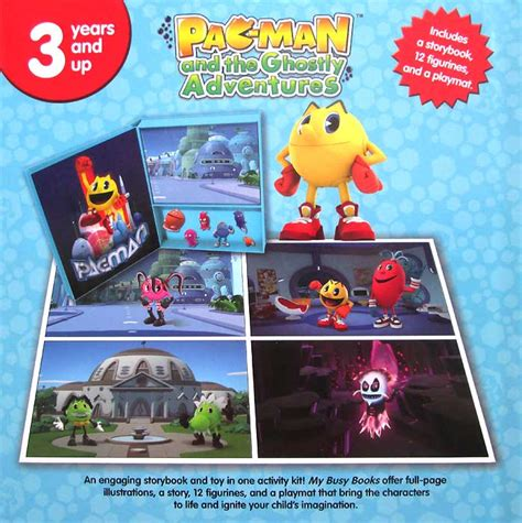 Buku Import Disney My Favourite Adventures my busy book pacman and the ghostly adventures includes a