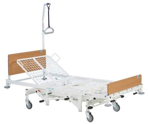 kingsfund standard manual hydraulic adjustable hospital homecare care bed ebay