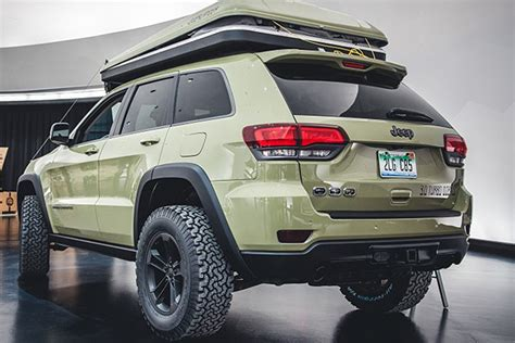 jeep grand cherokee all terrain tires jeep grand cherokee overlander concept is perfect off grid
