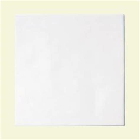 daltile polaris gloss white 8 in x 8 in glazed ceramic