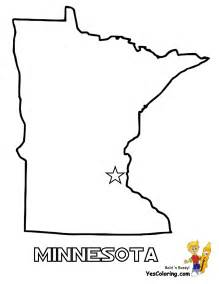 state color state flag of minnesota coloring pages
