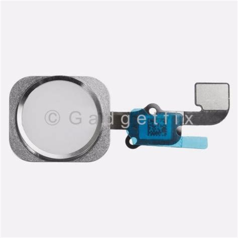 Iphone Home Button Touch Id White white iphone 6s flex cable fingerprint touch id sensor
