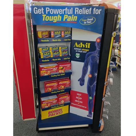 Advil Shelf by Trending Pop In Store Edition 23 Point Of Purchase