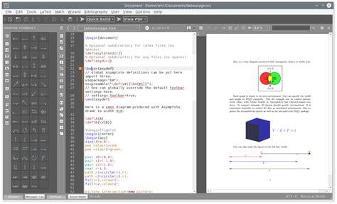 texmaker templates texmaker free cross platform editor