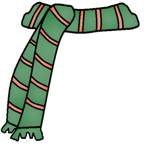Happy Green Color scarf clipart snowman scarf pencil and in color scarf