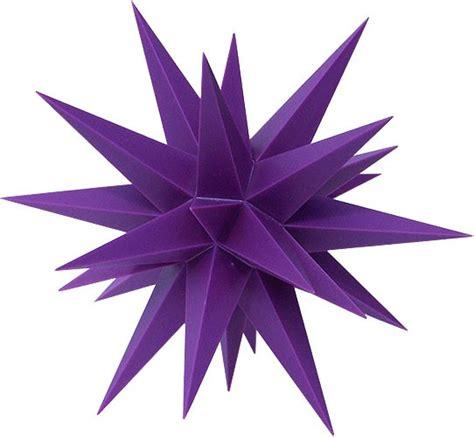 kleine herrnhuter sterne kleiner herrnhuter violett limitierte