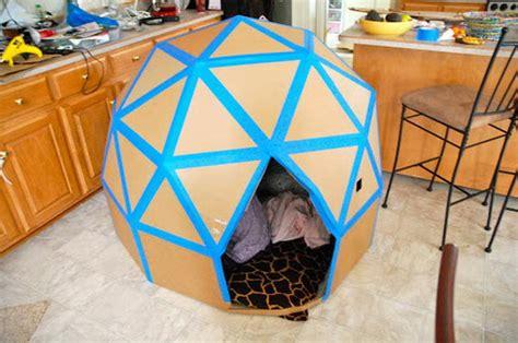 how to make cool boxes 30 creative diy cardboard playhouse ideas hative