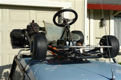 Kart Rack by Vintage Roof Rack Mounts Found And Bought