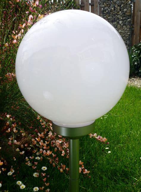 Solar Kugelleuchten Für Den Garten by Kugelleuchte Gartenkugel 3er Set 30 25 20cm Kugel Garten Kugelle Solar Led Ebay