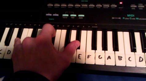 tutorial piano nuvole bianche nuvole bianche ludovico einaudi piano tutorial v 1 youtube