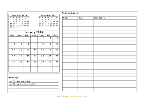 search results for free blank 2015 calendar templates