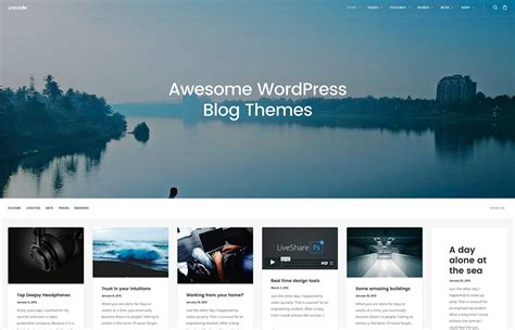 blog themes design 30 best personal blog wordpress themes 2016 colorlib