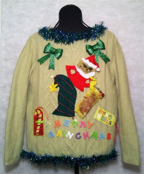 the grinch sweater with lights pinterest the world s catalog of ideas