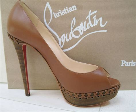 nib christian louboutin indiana 140 shoes 40 ebay