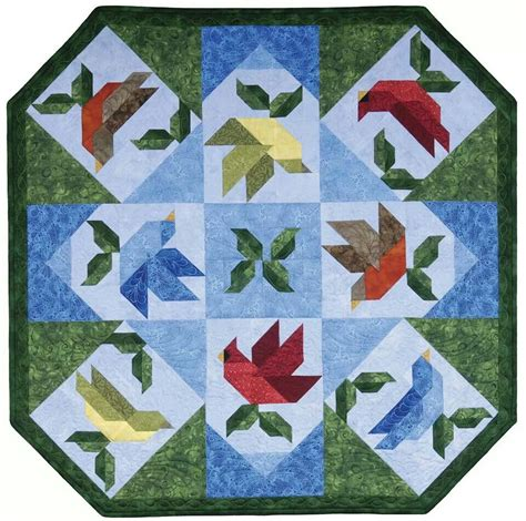 Quilt Patterns With Birds by Birds Quilt Quilting