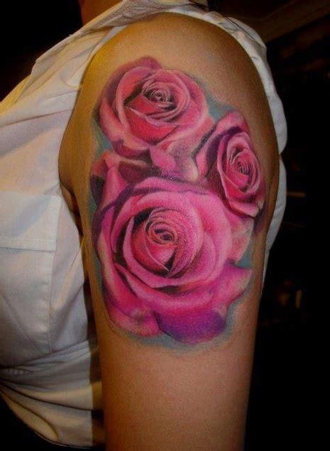 rose tattoo on the arm roses pink tattoo arm ooooh la la i thought i didn t