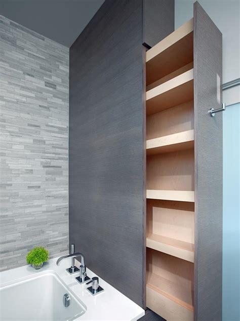 smart bath storage ideas hgtv