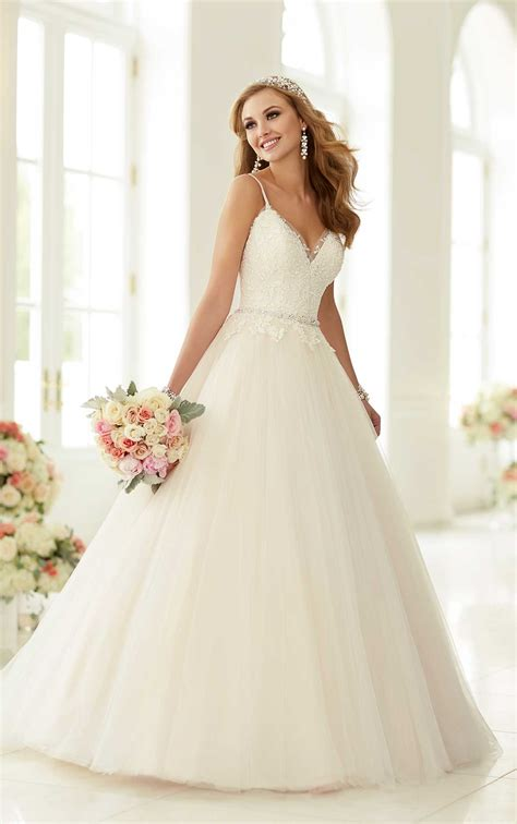 Wedding Dress Styles by Wedding Dresses Princess Style Wedding Gown Stella York