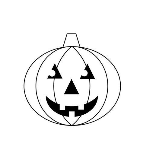 Printable Picture Of Jack O Lantern | free clipart n images halloween printable fun
