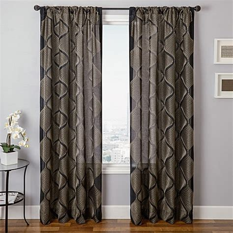 marlowe curtains buy softlines mellow marlowe 84 inch window curtain panel