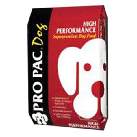 pro pac performance puppy pro pac high performance food r j feed supply