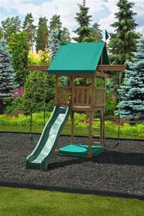 backyard wooden swing set 25 best ideas about swing sets on swing