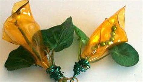 fiori di plastica riciclata come realizzare e utilizzare i fiori in plastica riciclata