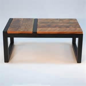 custom made domino coffee table modern barnwood by