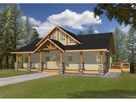 large front porch house plans bonanza a frame cabin lake home plan 088d 0346 house