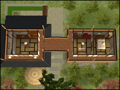 Custom Floor Plans mod the sims my japanese house