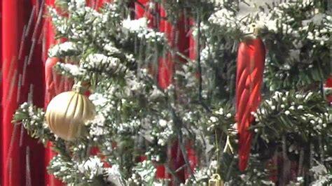 schneiender weihnachtsbaum snowing x mas tree gr 252 n