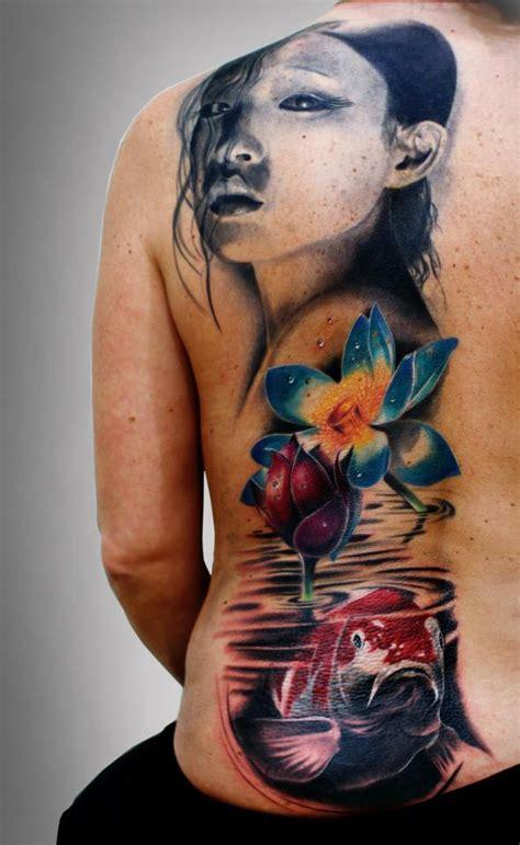 tattoo geisha realista silvano fiato certified artist