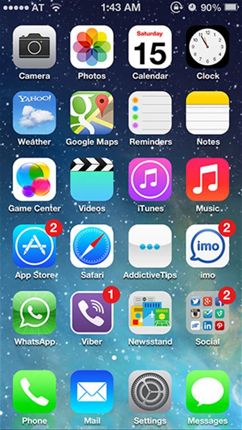 iphone icons top bar get ios 7 icons lock screen notification center on ios