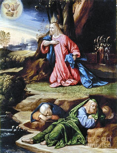 jesus agony   garden photograph  granger