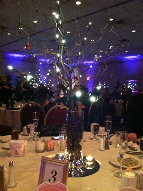 lighted tree branch centerpieces ideas for prom pinterest